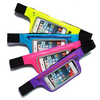 透明觸屏超薄iphone6 plus手機腰包多功能證件戶外跑步運動胸包