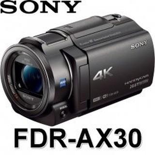 高雄 三晰 SONY 4K FDR-AX30 公司貨 專業攝影機 婚禮攝影