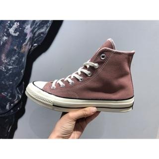 Converse 70s 高筒豆沙粉帆布鞋
