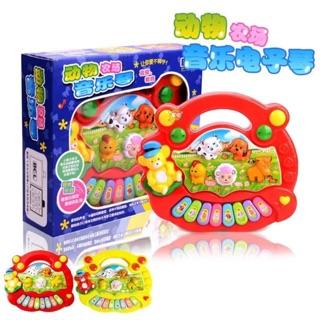 寶寶動物音樂電子琴 早教益智啟蒙玩具
