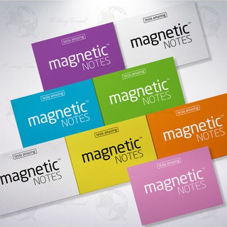 S-Size Magnetic Notes 小尺寸神奇磁力便利貼 (經典顏色組/CLASSIC Colors )