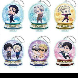 Yuri on ice 冰上的尤里 勝生勇利 水晶球吊飾