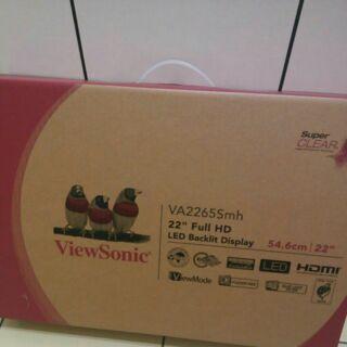 Viewsonic 22吋 LCD va2265smh