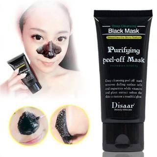 DISAAR 50ML 竹炭深層清潔淨化脫毛黑頭面膜