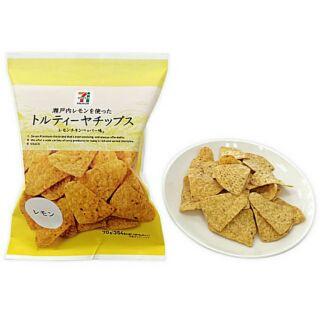 日本7-11檸檬口味玉米脆片70g