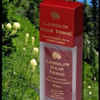 紐西蘭Beauty Spa Lanolin Hair Tonic 護髮油 63ml