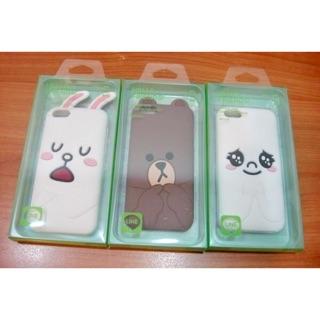 韓國原廠 正版 正品 LINE 手機殼 iPhone5/5s/se 適用 (剩可妮兔兔 、兔兔) 熊大已賣出