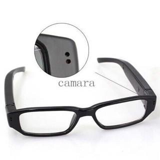 最新 720P迷你高清眼鏡DVR錄像機 隱蔽型針孔攝攝像機 間諜隱藏視頻密錄隱形記錄儀