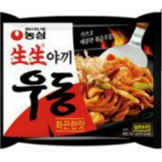 【韓國忠清南道】 韓國生生乾燒烏龍麵   (照燒口味)