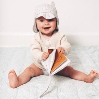 瑪雅【丹麥預購LIEWOOD】嬰兒陽帽有機棉