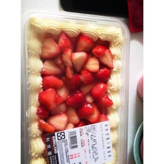預購-新鮮草莓千層蛋糕-costco草莓蛋糕代購~季節限定