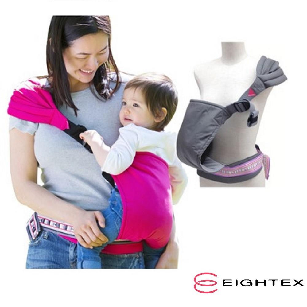 【總代理直送】日本製 Eightex 達可貝魯前抱式減壓背帶(粉紅/灰可選)