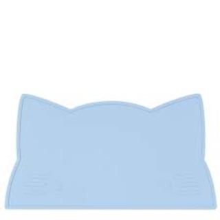 澳洲We Might Be Tiny 矽膠防滑餐墊小花貓-粉藍