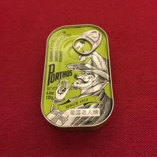葡國製造老人牌-辣味植物油沙甸魚罐頭