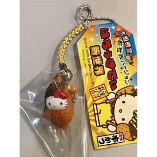 日本 大阪限定 Hello Kitty 食物造型鈴鐺吊飾 三麗鷗
