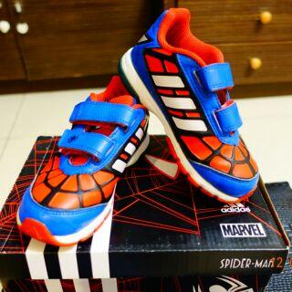 Adidas二手蜘蛛人童鞋16cm