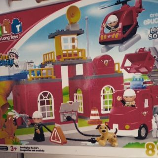 消防車樂高玩具85PS