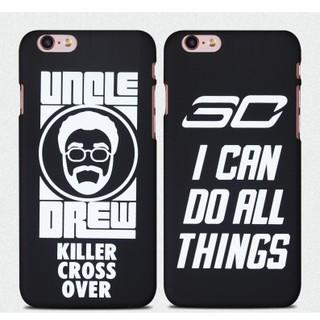 NBA籃球庫裡歐文iPhone6S手機殼6plus外殼蘋果6/5S SE磨砂螢光套