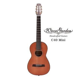 旅行吉他 WaveGarden C40-Mini 36吋 雲杉單板 小吉他 古典吉他 尼龍弦 - 【他,在旅行】