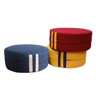 【YOI傢俱】馬卡龍餅乾椅 / 紅黃藍3色(椅凳/矮凳/腳凳) YLD-1012