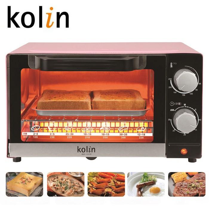 Kolin歌林10公升時尚電烤箱 KBO-LN103