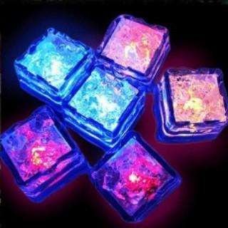 發光冰塊 七彩婚慶禮品 酒吧用品 結婚婚禮香檳塔 LED感應小夜燈 一盒 169元