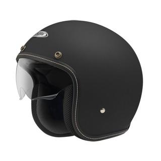 ZEUS 瑞獅 ZS-388A 復古帽 半罩 安全帽 超輕量化 內襯可拆 內墨鏡 - 白 消光黑 玫瑰金