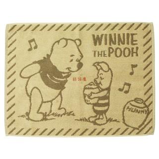 迪士尼系列小豬與維尼毛巾地墊
