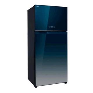 東芝TOSHIBA 608L 變頻玻璃鏡面ECO節能系列冰箱雙門冰箱 GR-WG66TDZ(GG)【弘昌電器】