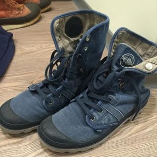 Palladium 丹寧 可反折 靴子 uk8.5