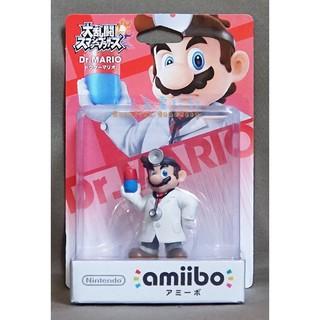 【月光魚 電玩部】amiibo Dr. MARIO 醫生瑪利歐 任天堂明星大亂鬥 NFC Wii U WiiU 3DS