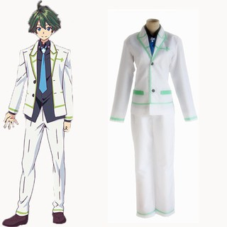 【SELL】日本動漫無彩限的怪靈世界一條晴彥cos服校cosplay服裝男
