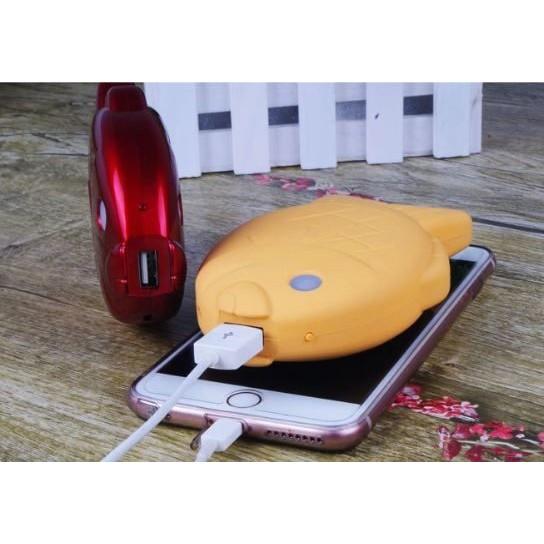 發發小姐 鯛魚燒行動電源12000mAh 蘋果安卓手機移動電源 可愛造型充電寶
