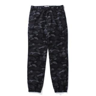 A Bathing Ape bape DOT CAMO JOGGER PANTS 黑迷彩 長褲 縮口褲