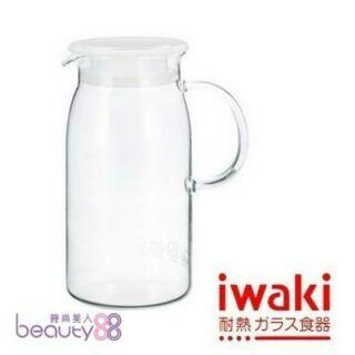 iwaki 耐熱玻璃水瓶600ml(KT293-W)