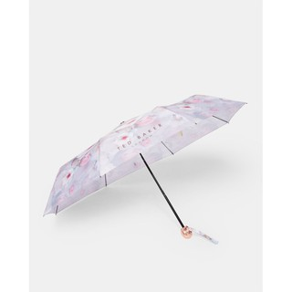 【預購】TED BAKER Chelsea floral telescopic umbrella 花朵印花傘 淺灰色