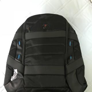 Swissdigital -黑色原力系列 旅行運動 電力後背包(RFID)黑