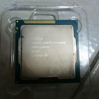 intel xeon E3-1230 v2 處理器 LGA1155
