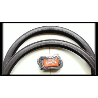 盛恩單車 【2外+2內】KENDA 建大 26x1.75(細紋) 舒適耐磨輪胎 26吋自行車皆可用