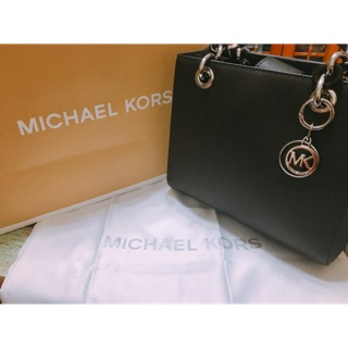 Michael Kors Cynthia Saffiano Leather Satchel