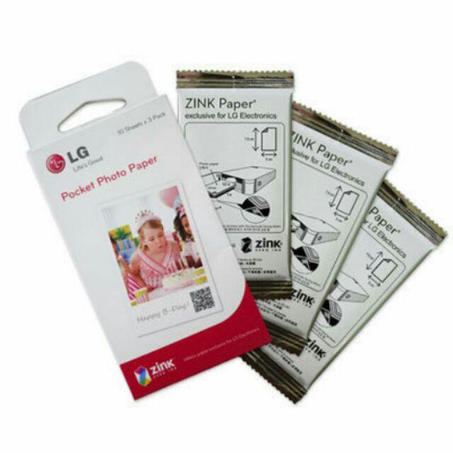 ✨彼比特☆ 原廠 LG Pocket Photo PS2203 相印機專用相紙 zink 底片 PD239 PD251