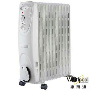 Whirlpool 惠而浦 葉片式電暖器 11片