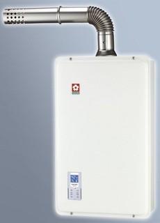 《電料專賣》櫻花SH-1633 SH-1631 16公升熱水器 數位恆溫強制排氣瓦斯熱水器 原廠櫻花安裝