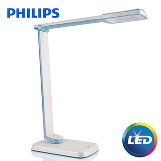 飛利浦 Philips LED 檯燈 晶彥 SPADE PLUS 藍 71663 - 飛利浦居家燈飾旗艦店