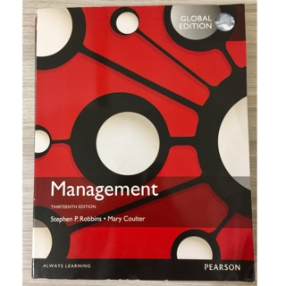 Management 13/E Robbins Coulter