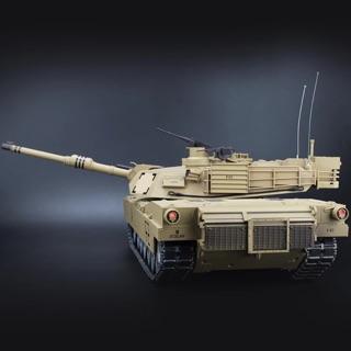 恆龍1:16遙控坦克,美軍現任主力坦克M1A2. 金屬升級版