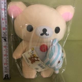 拉拉熊 懶懶熊 牛奶熊 拉小熊 奶妹 抱條紋小熊娃娃
