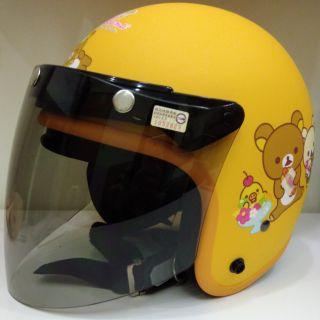 拉拉熊安全帽