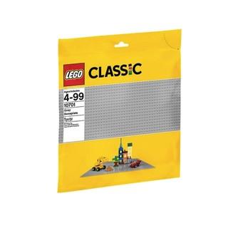 【宅媽科學玩具】樂高LEGO 配件10701 灰色底板
