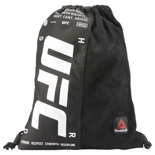 Reebok UFC Drawstring Gymsack 黑色 束口袋 CE4132 Successful R-Man